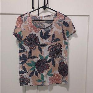 Ann Taylor Factory Floral Top